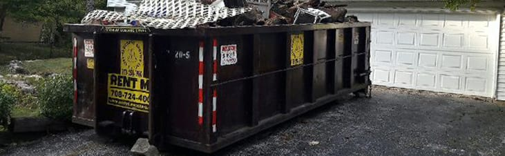 20 Yard Dumpster Rental Chicagoland Starting At Only 390