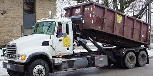 Roll off dumpster for rent in Chicagoland