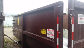 30 cubic yard dumpster rental for construction project