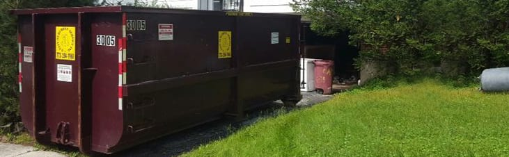 Roll off dumpster rental for larger remodeling job